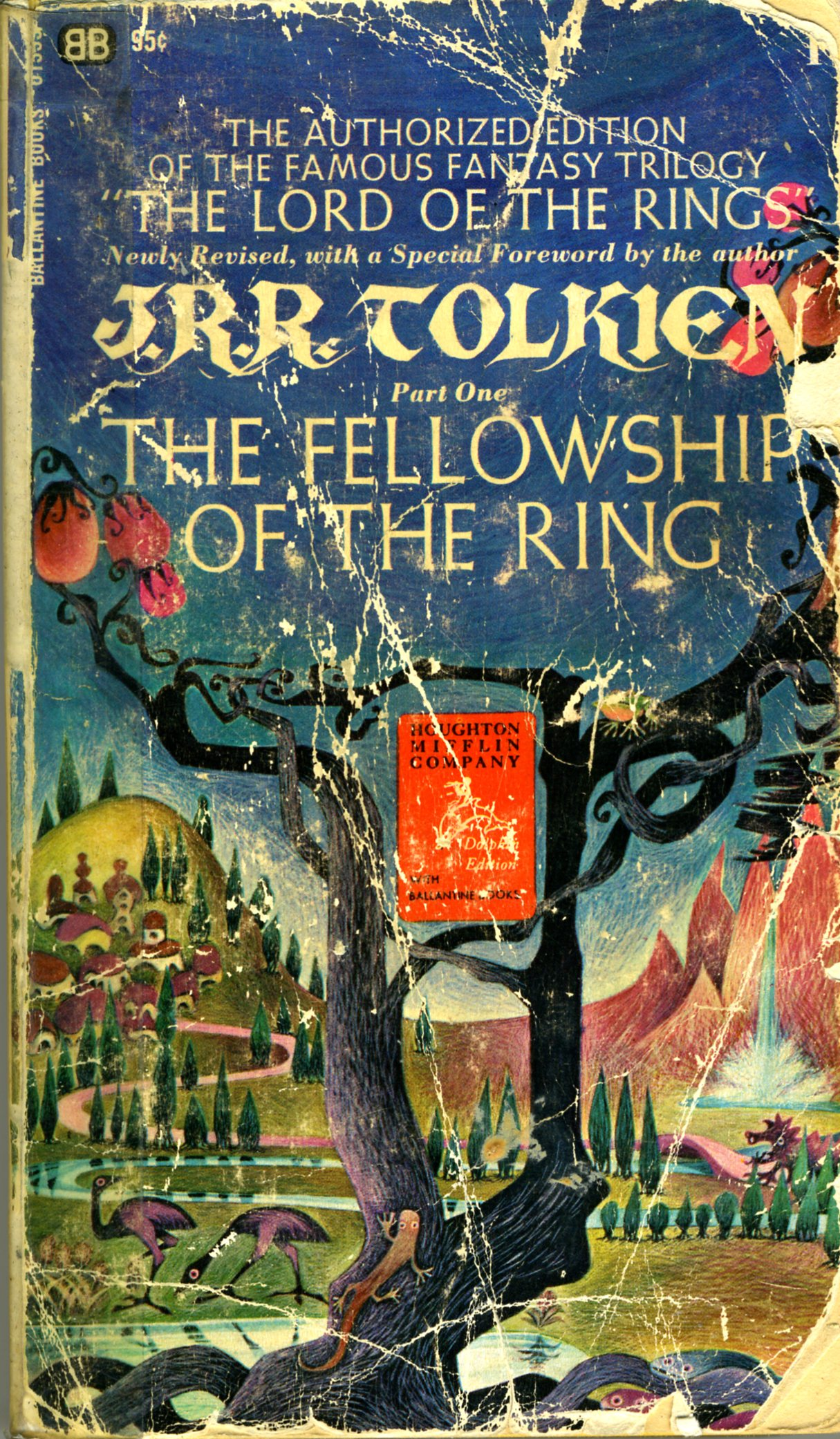 lord rings covers then 1969 fellowship ring cover
