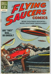 Flickr.com: Flying Saucers #4, November 1967. Dell Comics.