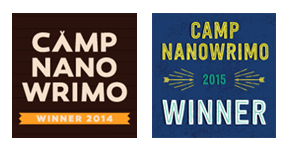 CampNaNoWriMo Winners Badges Apr_Jul 2015